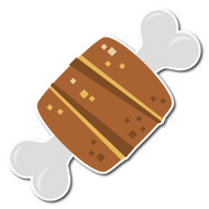 Emoji One Wall Icon Meat On Bone