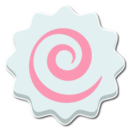 Emoji One Wall Icon Fish Cake With Swirl Design