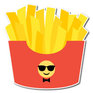 Emoji One Wall Icon French Fries
