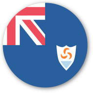 Emoji One Wall Icon Anguilla Flag