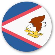 Emoji One Wall Icon American Samoa Flag