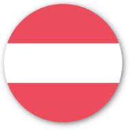 Emoji One Wall Icon Austria Flag
