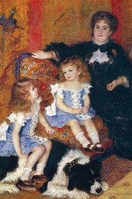Madame Charpentier And Her Children by Renoir