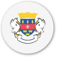 Emoji One Wall Icon Saint Barth??Lemy Flag
