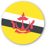 Emoji One Wall Icon Brunei Flag