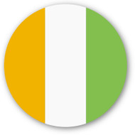 Emoji One Wall Icon Cote D'Ivoire Flag
