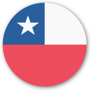 Emoji One Wall Icon Chile Flag