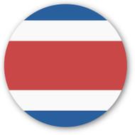 Emoji One Wall Icon Costa Rica Flag