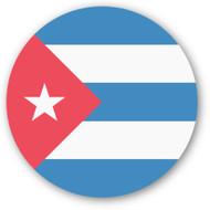 Emoji One Wall Icon Cuba Flag