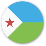 Emoji One Wall Icon Djibouti Flag