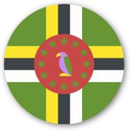 Emoji One Wall Icon Dominica Flag