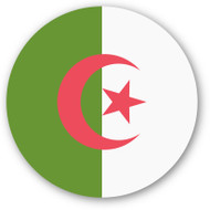 Emoji One Wall Icon Algeria Flag