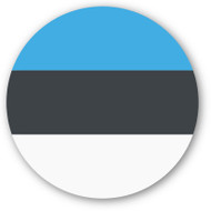 Emoji One Wall Icon Estonia Flag
