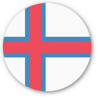 Emoji One Wall Icon Faroe Islands Flag