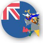 Emoji One Wall Icon South Georgia Flag