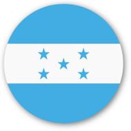 Emoji One Wall Icon Honduras Flag