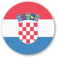 Emoji One Wall Icon Croatia Flag