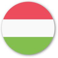 Emoji One Wall Icon Hungary Flag