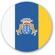Emoji One Wall Icon Canary Islands Flag
