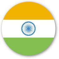Emoji One Wall Icon India Flag