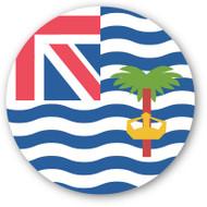 Emoji One Wall Icon British Indian Ocean Territory Flag