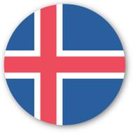 Emoji One Wall Icon Iceland Flag
