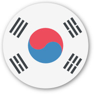 Emoji One Wall Icon Korea Flag