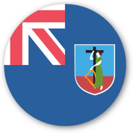 Emoji One Wall Icon Montserrat Flag