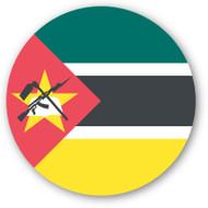 Emoji One Wall Icon Mozambique Flag