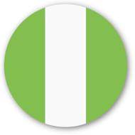 Emoji One Wall Icon Nigeria Flag