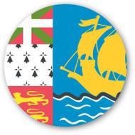 Emoji One Wall Icon Saint Pierre And Miquelon Flag