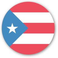 Emoji One Wall Icon Puerto Rico Flag