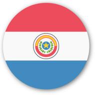 Emoji One Wall Icon Paraguay Flag
