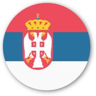 Emoji One Wall Icon Serbia Flag
