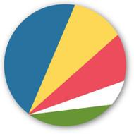 Emoji One Wall Icon The Seychelles Flag