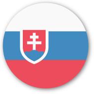 Emoji One Wall Icon Slovakia Flag