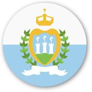 Emoji One Wall Icon San Marino Flag