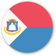Emoji One Wall Icon Sint Maarten Flag