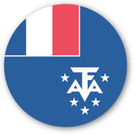 Emoji One Wall Icon French Southern Territories Flag