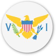 Emoji One Wall Icon U.S. Virgin Islands Flag