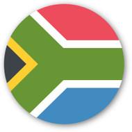 Emoji One Wall Icon South Africa Flag