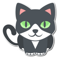 Emoji One Animals & Nature Wall Icon: Cat