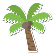 Emoji One Animals & Nature Wall Icon: Palm Tree