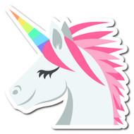 Emoji One Animals & Nature Wall Icon: Unicorn Face