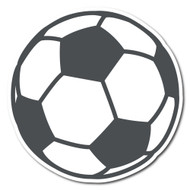 Emoji One Sports & Activities Wall Icon: Soccer Ball