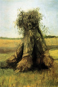 Sheaves Bundled High in a Field by Van Gogh
