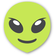 Emoji One Smiley & People Wall Icon: Extraterrestrial Alien