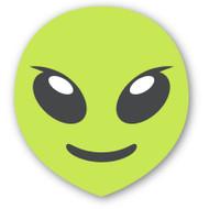 Emoji One Smiley & People Wall Icon: Extraterrestrial Alien