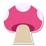 Emoji One Animals & Nature Wall Icon: Mushroom