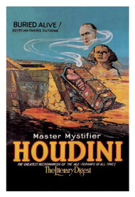 Literary Digest: Houdini Buried Alive